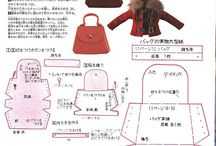 Bags pattern for dolls / Make small bags