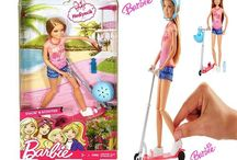 Barbie Stacie İle Scooter Eğlencesi DVX57