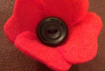 Anzac day Celebrations / Poppies and Anzac day projects
