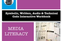 Media Literacy Projects / Media literacy activities for primary and high school students. Worksheets, lesson plans, filming projects - great resources to teach codes and conventions.