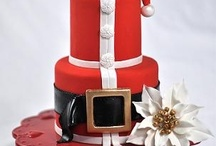 Christmas and winterwedding cakes etc.