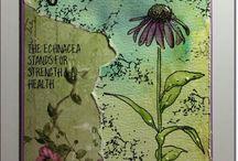 Veer en Moon / Prachtige bloemenstempels met een verhaal !!