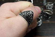 Erkek yüzükleri tesbihcim.co. / Ürününlermiz orjinal Gümüşdür 925