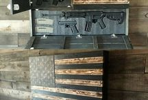 Gun Storage / Keeping you gun safe is a crucial part of responsible gun ownership. Keeping your guns in a safe is the perfect way to keep them out of the hands of those who shouldn't have access to a gun. It can also help keep your gun clean and ready to shoot. Below you'll find some of our favorite gun safes and gun storage furniture.