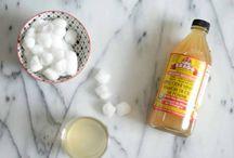Genius ways to use vinegar for skin & hair
