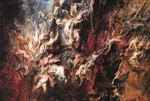 """Zniszczone dzieło sztuki. Sprawca chciał """"uwolnić obraz zamknięty w czterech ścianach muzeum""""."""