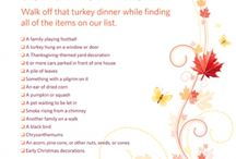 Thanksgiving / Holiday / by Andrea Robinson