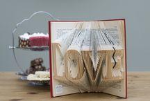 Book Art / Book folding designs.