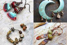 jewelry Earrings - boho, rustic