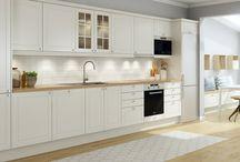 Klassiske & minimalistiske kjøkken