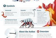 Infografías de libros.