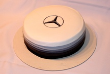 Mercedes-benz cake 3