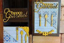 quadros gourmet