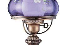 Vintage Lamps & Oil Lamps