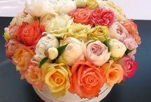 Букеты в коробках by #happyflowerbox / Тут про охапки цветов в коробках