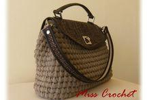 Crochet Bags & Clutches / Handmade crochet accessories