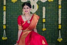 sarees and jewellery