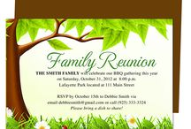 Family Reunion Flyer Template Pertaminico - Family reunion invitation templates