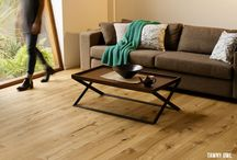 Heartridge Engineered Timber Flooring / Bring the warmth of real timber into your home. Our premium range has 3 surface options and a bevelled edge, adding a natural finish.