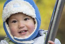 Berretti per bambini in lana vergine