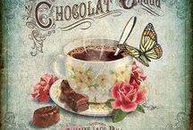 сладости чай кофе dolci
