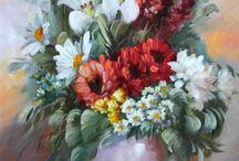 Художник Szechenyi Istvanne Varga Szidonia. / Венгерская художница Сеченьи Иштванна Варга Сидония. А родилась она в 1965 году в Кишкунфеледьхазе. С 1993 года художница начинает «выставляться». Её работы, красочные и очень живые, известны далеко за пределами Венгрии.