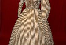 Mid 19th Century Cotton Dress Inspiration
