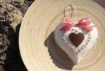 Handmade hearts (gifts) / Handmade hearts, gifts