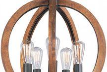 Lights, pendants, chandeliers