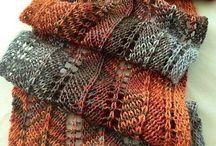 shawl crochet or knitting