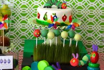 Hungry Caterpillar Birthday / The Very Hungry Caterpillar is the perfect theme for your little ones birthday!