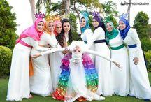 modest bridesmaid