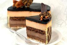 Entremets-Mini layered cakes