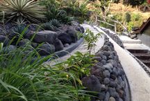 #Landscape : Stone / A self designed and built to be ECO friendly, low maintenance garden