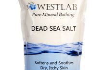 Dead Sea Salt WestLab Products / Our Dead Sea Salt collection from our online range at www.westlabsalts.co.uk