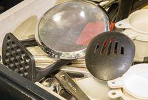 Uncluttered kitchen - lazy Susan fix