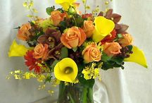 Our Fall Arrangements / Flower arrangements in fall colors