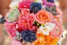 Colorful Summer Weddings