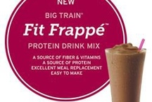Fit Frappé™ Gourmet Protein Drink Mixes / by Big Train Inc