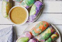 salad rolls (rice paper)