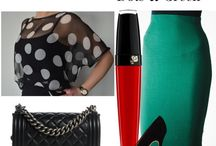 Green Pencil Skirt / how to style green pencil skirt