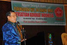 Acara Peringatan HUT 50 Tahun Emas Peradin / Peradin menyelenggarakan acara peringatan HUT 50 Tahun Emas yang berlangsung pada Sabtu, 30 Agustus 2014 di Hotel Ciputra Jakarta Barat.