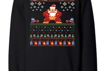 Ugly Christmas Sweaters / 12 ugly Christmas sweaters every geek will want
