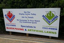 Exterior Sign Produced make your business