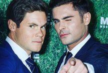 Zac and Adam<3