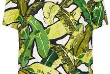 Tropical adventure styling and print inspiration