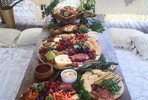 Rustic platter