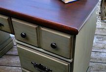desk paint