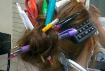Crazy hair days