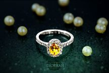 Sparkling Cluster Rings / Stunning collection of #Diorrah cluster rings
